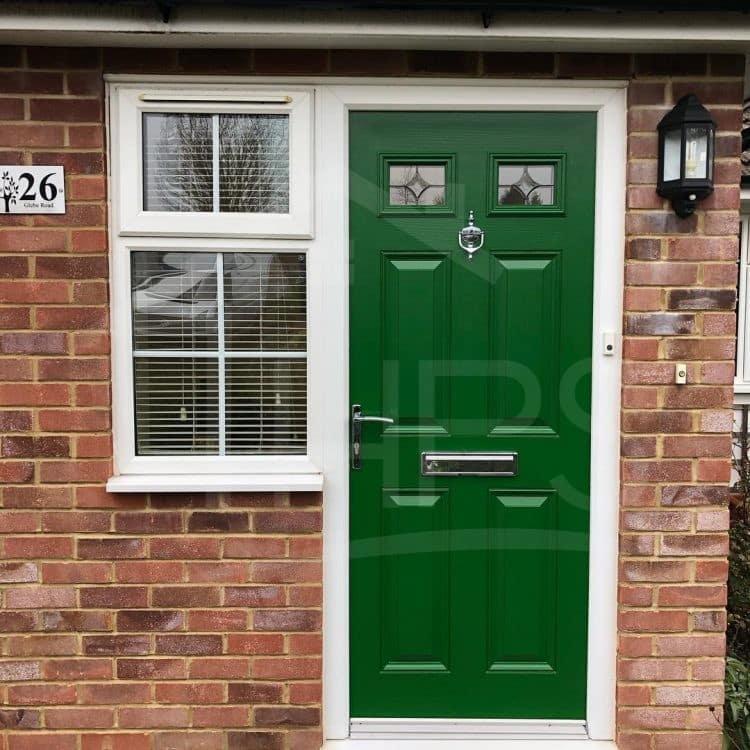 Can you paint UPVC front doors? | Painting a PVC door